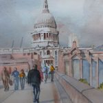 Saint Paul's Cathedral London – London Art Gallery – David Harmer – Surrey Artist