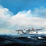 Short Sunderland Flying Boat – Doug Myers – Portrait and Fine Artist – Chertsey Artists – Surrey Art Gallery