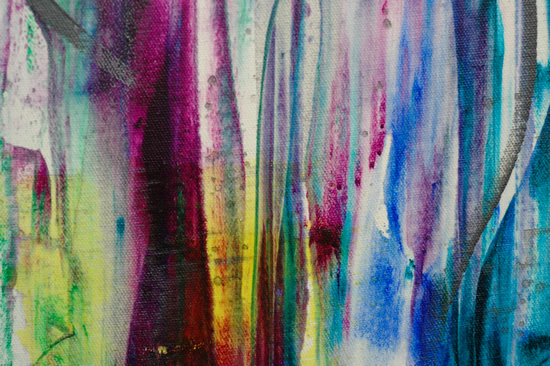 Slide - Contemporary Art Gallery- Charlotte Amison Surrey - Fine Artist Specialising In Abstract Expressionism
