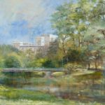 St James's Park London in Spring – London Gallery – Farnham Surrey Artist Michael Walsh – Society of Graphic Fine Art