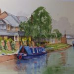 St Johns Woking – Basingstoke Canal Surrey Art