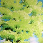 Tree and Sky – Listen Up 2 – Surrey Artist – Rajin Park – New Malden