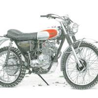 Triumph Adventurer Motorbike – Surrey Artist – Linda Brand UKCPS – Gallery – Pencil Artist
