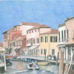 Venice – Murano Island – Award-Winning Surrey Artist – Linda Brand UKCPS – Gallery – Pencil Artist