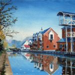 Thames Lock Weybridge Surrey – Wey Navigation Canal Art Gallery