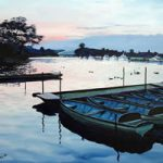 Windsor Rail Bridge – Berkshire – Doug Myers – Portrait and Fine Artist – Chertsey Artists – Surrey Art Gallery