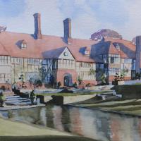 Wisley Gardens Surrey Scenes Art Gallery
