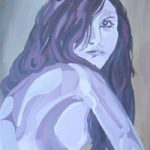 Woman – Gill – Contemporary Art Gallery – London Artist Elaine Pigeon