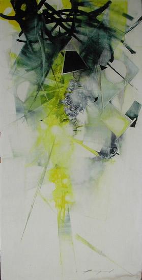 Abstract Art - Air and Line - Surrey Artist Bruce Beaugeard - Gallery