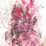 Abstract Art – Child of the Universe – Surrey Artist Fiona Channon – Oils, Inks and Drawings