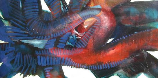 Abstract, Contemporary Art - Witchcraft - Surrey Artist Bruce Beaugeard - Gallery
