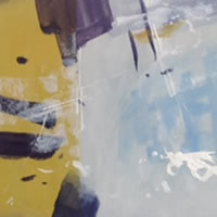 Abstracted 1 – Kim Page – Paintings in Watercolour and Oil – Surrey Art Gallery – England