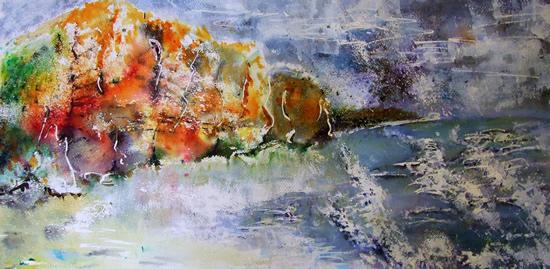 Beyond Broadchurch - Surrey Artist Ingrid Skoglund - Guildford Art Society, Village Artists, Pirbright Art Club, Normandy Artists and West Surrey Artists