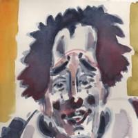 Russian Clown – Clown Artist – Miles Baker – Devon Artist