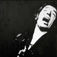 Bruce Springsteen Portrait – Surrey Artist Chris Cunningham – Portrait Artist – Commissions Invited for Paintings of Film Stars, Rock Stars, Anyone Else