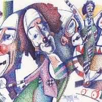 Circus Clowns – Pointillism – The Mess Vol 153 – Clown Artist – Miles Baker – Devon Gallery