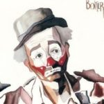 Clown – The Tramp – Clown Artist – Miles Baker – Devon Artist – Artistic tuition to Individuals and small groups and Art Club presentations