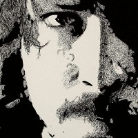 Dave Grohl (Foo Fighters) Portrait – Surrey Artist Chris Cunningham – Portrait Artist – Commissions Invited for Paintings of Film Stars, Rock Stars, Anyone Else