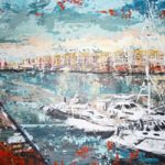 Docklands Yachts – Grainne Roche – Fine Artist – Byfleet Art Group – Woking Society of Arts – Surrey Art Gallery