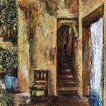 Doorway – Grainne Roche – Fine Artist – Byfleet Art Group – Woking Society of Arts – Surrey Art Gallery
