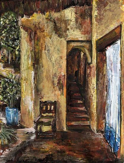 Doorway - Grainne Roche - Fine Artist - Byfleet Art Group - Woking Society of Arts - Surrey Art Gallery