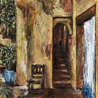 Doorway – Grainne Roche – Fine Artist – Byfleet Art Group – Woking Society of Arts – Surrey Art Gallery
