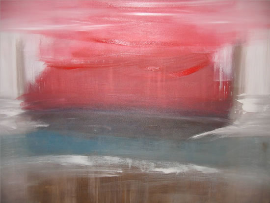 From Earth to Heaven - Heather MacDonald - Paintings in Oils and Acrylics, Combined With Textures - Contemporary Abstract Art - Surrey Artists Gallery