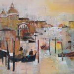 Grand Canal 2, Venice, Italy – Nagib Karsan – Artist in Watercolours, Mixed Media and Collage – Guildford Art Society