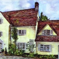 Kleibers House – Painting Commission – Susie Lidstone – Surrey Artist – Society of Architectural Illustration