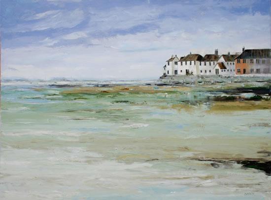 Landscape - Bosham Village, West Sussex - Chris Elsden - Original Paintings and Fine Art Prints - Devon Artist