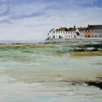 Landscape – Bosham Village, West Sussex – Chris Elsden – Original Paintings and Fine Art Prints – Devon Artist