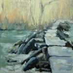 Landscape – Tarr Steps, Exmoor – Chris Elsden – Original Paintings and Fine Art Prints – Devon Artist
