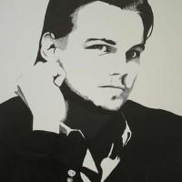 Leonardo DiCaprio Portrait – Surrey Artist Chris Cunningham – Portrait Artist – Commissions Invited for Paintings of Film Stars, Rock Stars, Anyone Else