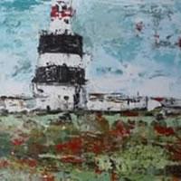 Lighthouse – Grainne Roche – Fine Artist – Byfleet Art Group – Woking Society of Arts – Surrey Art Gallery