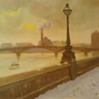 London - River Thames - James Carey-Wilson