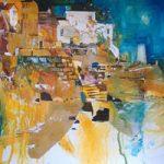 Lyme Regis, Dorset – Nagib Karsan – Artist in Watercolours, Mixed Media and Collage – Dorking Group of Artists