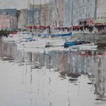 Marine Reflections – Kim Page – Paintings in Watercolour and Oil – Surrey Art Gallery – England