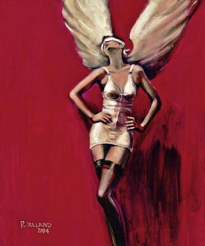 Modern Angel - Surrey Artist Ronnie Ireland - Guildford Art Society, Farnham Art Society, Woking Art Society