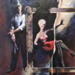 Torn Picture – Topper – Surrey Artist Ronnie Ireland – Guildford Art Society, Farnham Art Society, Woking Art Society