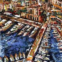 Monaco – Grainne Roche – Fine Artist – Byfleet Art Group – Woking Society of Arts – Surrey Art Gallery