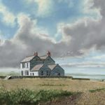 Old Neptune Pub, Whitstable, Kent – David Whitson – Paintings in Oils – Woking Society of Arts – Surrey Art Gallery