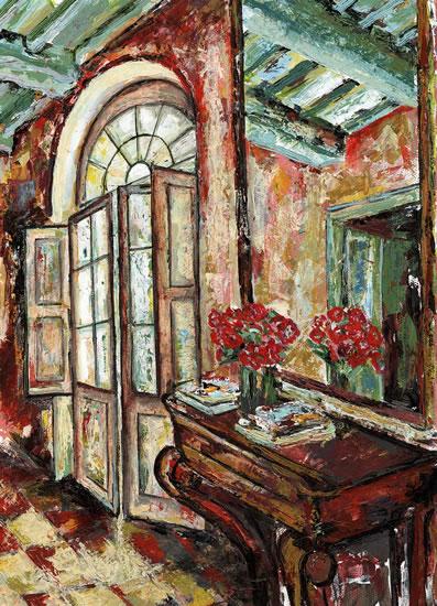 Open Door - Grainne Roche - Fine Artist - Byfleet Art Group - Woking Society of Arts - Surrey Art Gallery