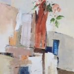 Pat Austin Rose – Still-Life – Kim Page – Paintings in Watercolour and Oil – Surrey Art Gallery – England