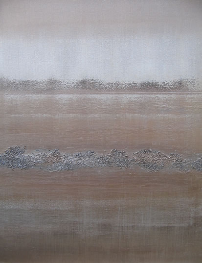Paved in Silver - Heather MacDonald - Artwork in Oils and Acrylics, Combined With Textures - Contemporary Abstract Art - Surrey Artists Gallery
