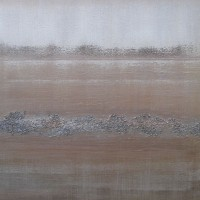 Paved in Silver – Heather MacDonald – Paintings in Oils and Acrylics, Combined With Textures – Contemporary Abstract Art – Surrey Artists Gallery