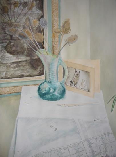 Personal Treasures - Paintings and Drawings in various Media - Vanessa Kennedy - Surrey Artist - Surrey Art Gallery