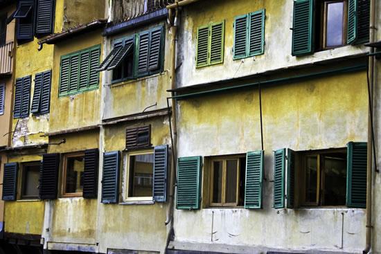 Ponte Vecchio Florence, Italy - Stephen Webb - Pyrford Fine Art Photographer - Surrey Artists Gallery