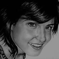 Portrait of Girl – Ana – Richard Johnson – Hampshire Art Gallery – Surrey Artists – England