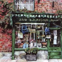 Shop – Cobblers – Susie Lidstone – Surrey Artist – Farnham Art Society, Guildford Art Society