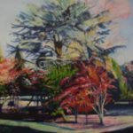 Spring At Wisley Gardens – Rodney Thomas Annetts – Woking Society Of Arts – Surrey Artists Gallery